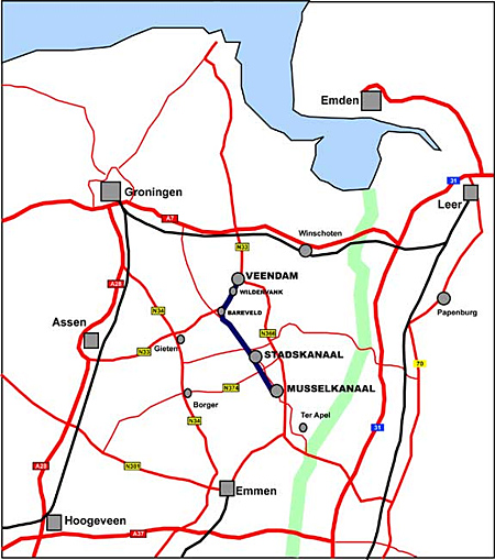Kaart - Karte - Map