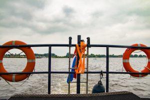 Boot op oldambtmeer